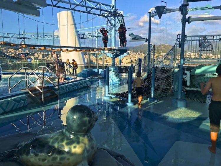 Polar Aquapark MSC Meraviglia
