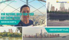 """Video: Mein Schiff 6 Vlog – """"New York mit Kanada"""" – Radfahren, Boston, Empire State Building und  noch viel mehr!"""