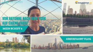 Mein Schiff 6 Kreuzfahrt Vlog (10): Von Bayonne nach New York auf eigene Faust & Abreise