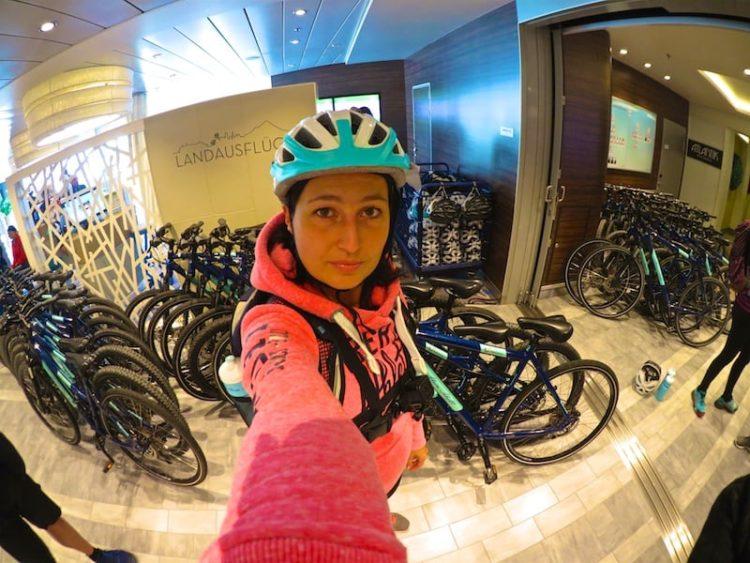 Treffpunkt Bikeschalter auf Deck 4