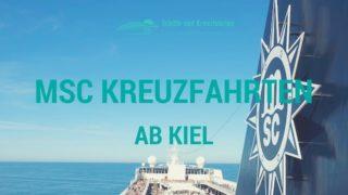 MSC Kreuzfahrten ab Kiel