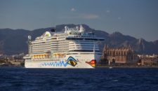 AIDA versorgt AIDAperla und AIDAprima im Mittelmeer mit LNG