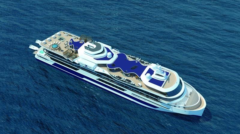 Die neue CELEBRITY FLORA - das Galapagos Schiff / © Celebrity Cruises