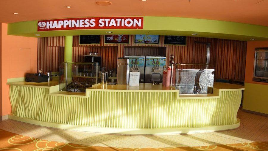 Langnese Hapiness Station / © AIDA