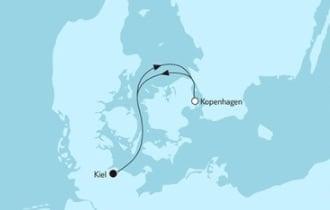 Mein Schiff 3 Kurzreise mit Kopenhagen © TUI Cruises