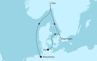 Mein Schiff 3 Kurzreise mit Oslo & Kopenhagen 4 © TUI Cruises