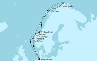 Mein Schiff 3 Norwegen mit Nordkap 4 © TUI Cruises
