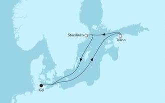 Mein Schiff 4 Kurzreise mit Tallinn & Stockholm © TUI Cruises