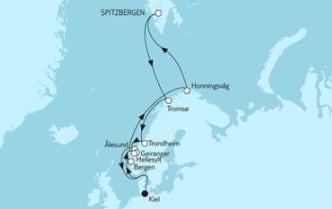 Mein Schiff 4 Norwegen mit Spitzbergen 1 © TUI Cruises
