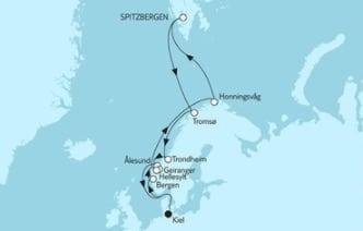 Mein Schiff 4 Norwegen mit Spitzbergen 2 © TUI Cruises