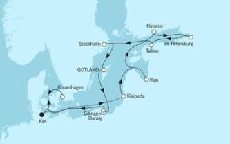 Mein Schiff 4 Ostsee mit St. Petersburg & Kopenhagen 2 © TUI Cruises