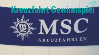 MSC Kreuzfahrten Gewinnspiel