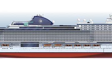 Rendering der MSC Seaside EVO © MSC Cruises