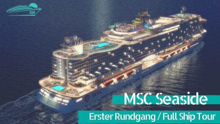 Die Highlights der MSC Seaside im Rundgang