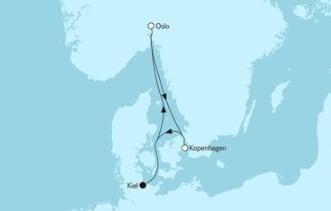 Neue Mein Schiff 1 Kurzreise mit Oslo & Kopenhagen 1 © TUI Cruises