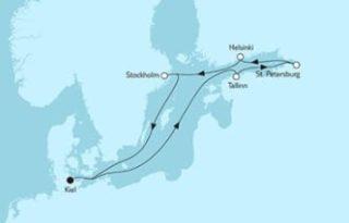 Neue Mein Schiff 1 Ostsee mit St- Petersburg 2 © TUI Cruises