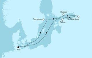 Neue Mein Schiff 1 Ostsee mit St. Petersburg 4 © TUI Cruises