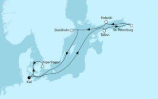 Neue Mein Schiff 1 Ostsee mit St. Petersburg 5 © TUI Cruises