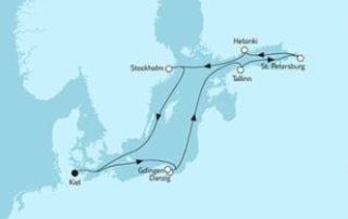 Neue Mein Schiff 1 Ostsee mit St. Petersburg & Danzig 1 © TUI Cruises