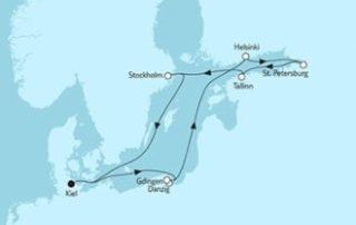 Neue Mein Schiff 1 Ostsee mit St. Petersburg & Danzig 2 © TUI Cruises