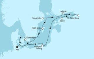 Neue Mein Schiff 1 Ostsee mit St. Petersburg & Kopenhagen 1 © TUI Cruises