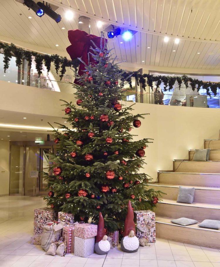 AIDA Weihnachtsbäume / © AIDA Cruises