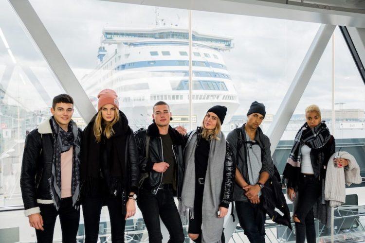 Austria´s Next Topmodell an Bord von Tallink Silja / © Jörg Klickermann