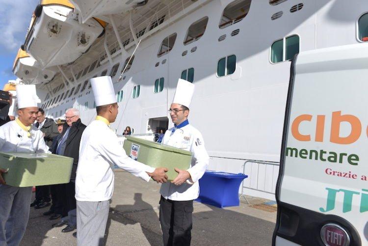 Costa Kreuzfahrten baut Partnerschaft zur Vermeidung von Lebensmittelabfällen aus © Costa Kreuzfahrten