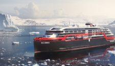 Hurtigruten: Roald Amundsen sticht ab Hamburg in See