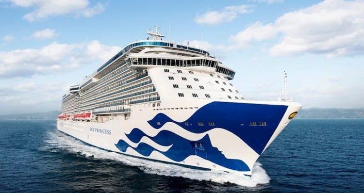 Das neue Schiff von Princess Cruises heißt Sky Princess © Princess Cruises