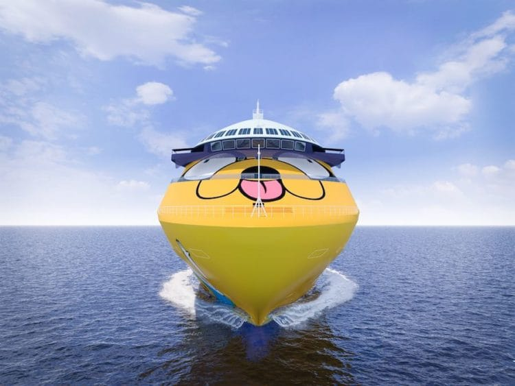 Cartoon Network Wave - Neues Cartoon Kreuzfahrtschiff / © Warner