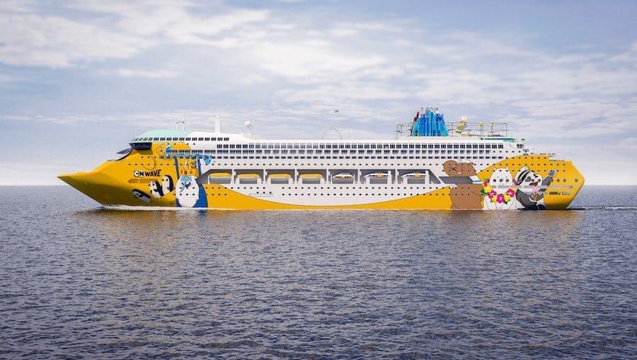 Cartoon Network Wave - Neues Cartoon Kreuzfahrtschiff / © Turner (erste Renderings)