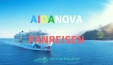 AIDAnova Fanreisen im November 2018