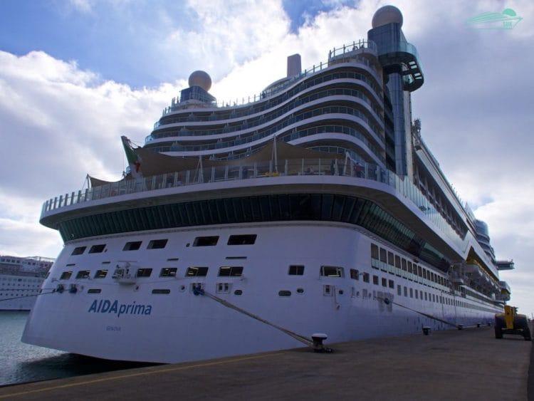 AIDAprima in Puerto del Rosario