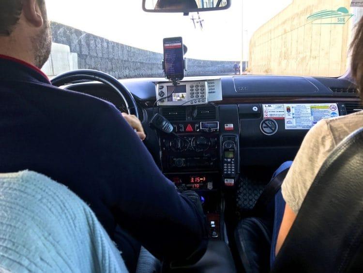 Taxifahrt vom Hafen zum Flughafen Lanzarote