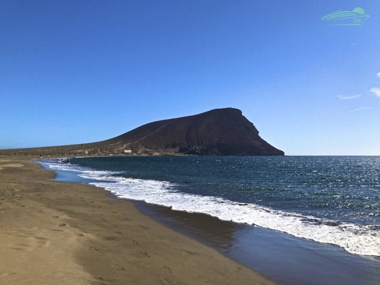 Montaña Roja auf Teneriffa