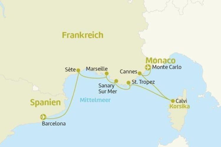 Azamara Journey: westliches Mittelmeer / © Berge & Meer