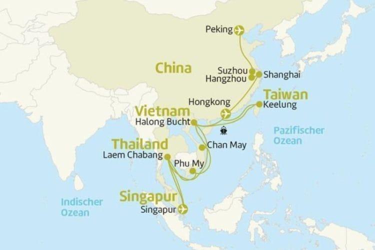 Celebrity Millennium : 24 Tage Asien Kreuzfahrt mit China-Rundreise / © Berge & Meer