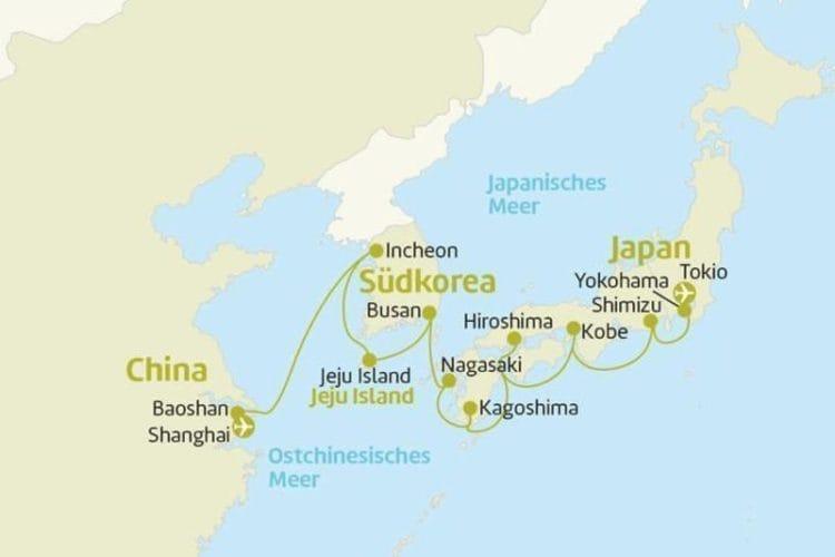 Celebrity Millennium: Von Tokio bis Shanghai / © Berge & Meer
