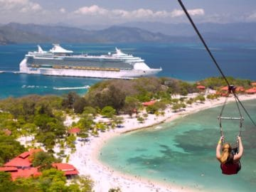 Freedom of the Seas in Labadee / © Royal Caribbean