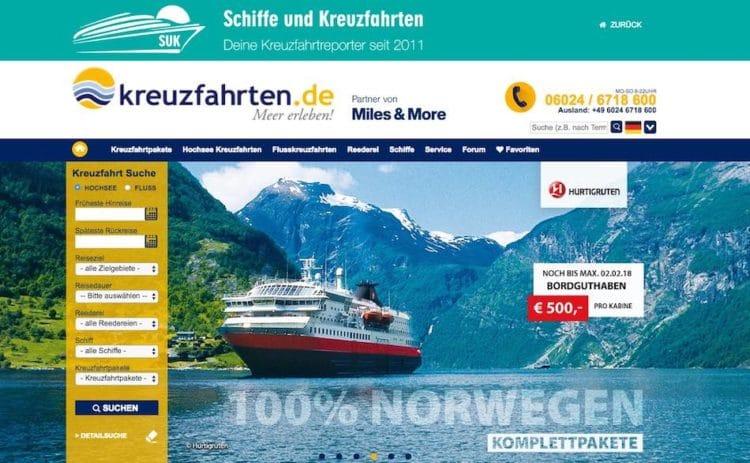 Kreuzfahrten.de - Angebote
