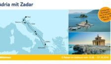 """Umroutung: TUI Cruises streicht Ravenna auf der Route """"Adria mit Zadar"""""""