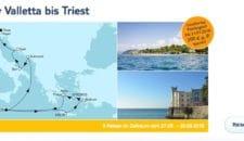 Mein Schiff 2 : 14 Nächte Ägäis & Valletta bis Triest inkl. AI und Flug