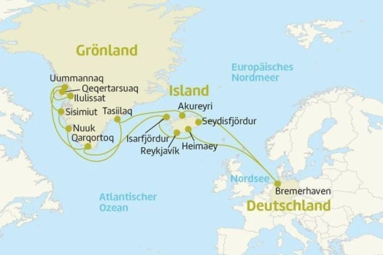 MS Astor: Island und Grönland / © Berge & Meer
