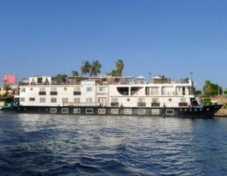 Beispielbild: Nilkreuzfahrtschiffe von Phoenix Reisen / © Phoenix Reisen