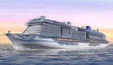 P&O Cruises bekommt zwei LNG Kreuzfahrtschiffe von der Meyer Werft in 2020 und 2022
