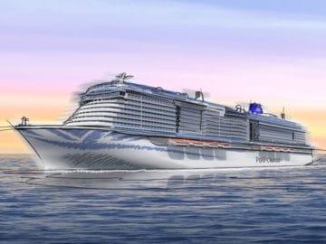 Die P&O Cruises Neubauten von der Meyer Werft werden in 2020 und 2022 ausgeliefert / © P&O Cruises