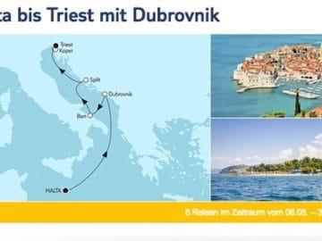Mein Schiff 2 - Valletta bis Triest mit Dubrovnik / ©Tui Cruises