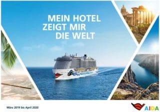 Der neue AIDA Katalog von März 2019 bis April 2020 @ AIDA Cruises