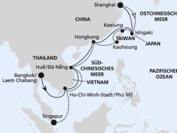 AIDAbella: Südostasien / ©AIDA Cruises